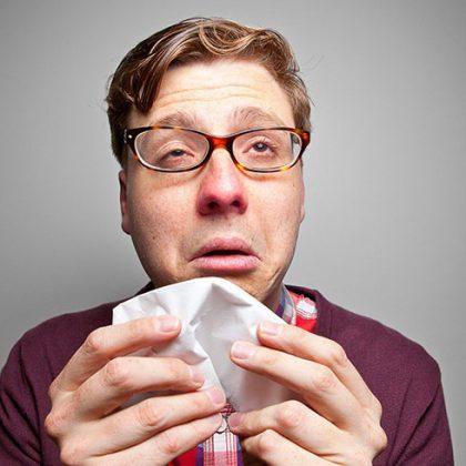 Frio, gripe e graça