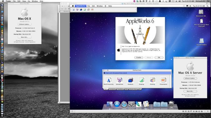 Appleworks in SLS