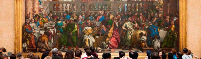 Jesus nas bodas de Caná, por Veronese