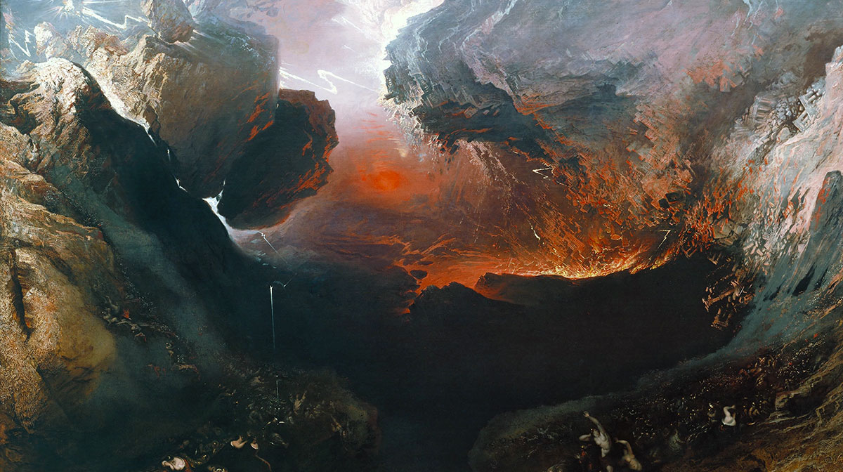 John Martin - The Great Day of His Wrath - Google Art Project