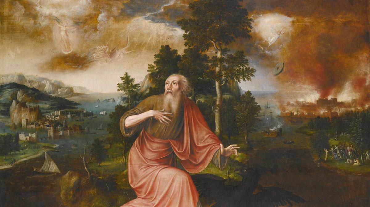 O apóstolo João em Patmos